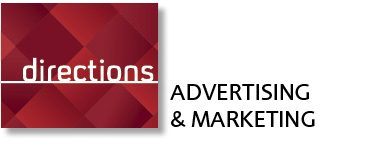 Directions logo and byline